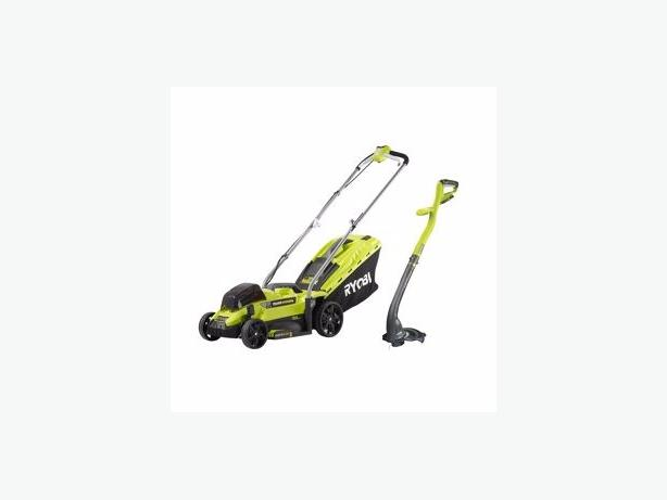 ryobi electric lawnmower and strimmer brand new