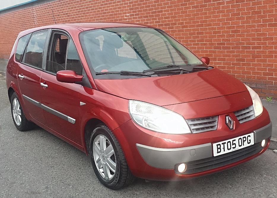 2005 05 renault grand scenic dynamique 7 seater oldbury dudley. Black Bedroom Furniture Sets. Home Design Ideas