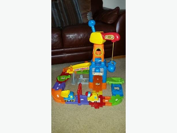 Vtech toot toot Construction site