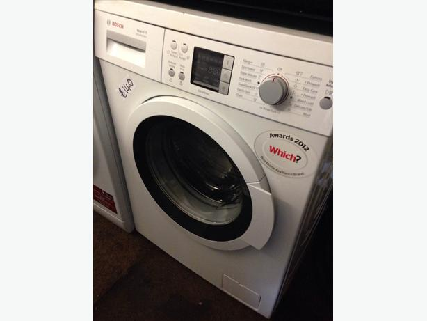 BOSCH 8KG WASHING MACHINE LCD DISPLAY