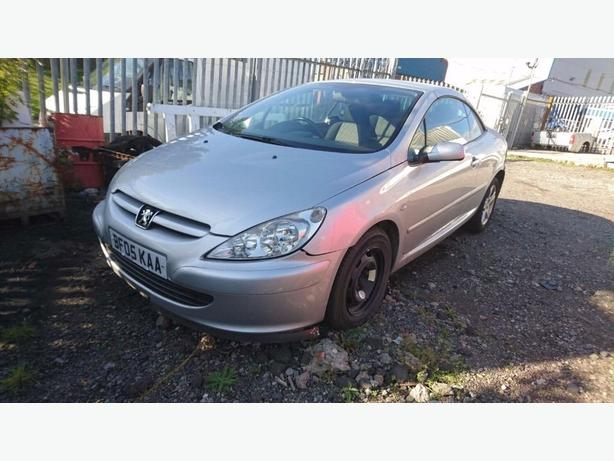 Peugeot 307 cc in fantastic condition