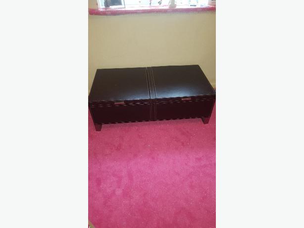 leather storage unit