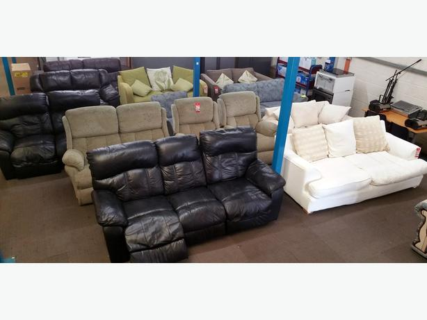 HUGE SELECTION OF SOFAS, SETTEES, FURNITURE