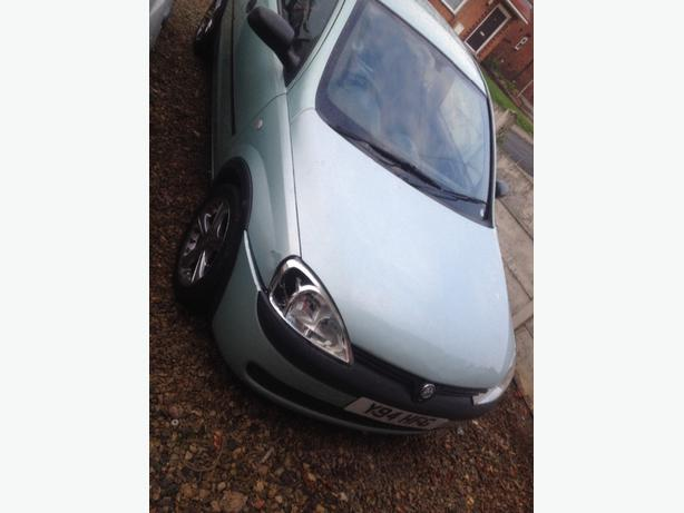 vauxhall corsa 1.2 need gone