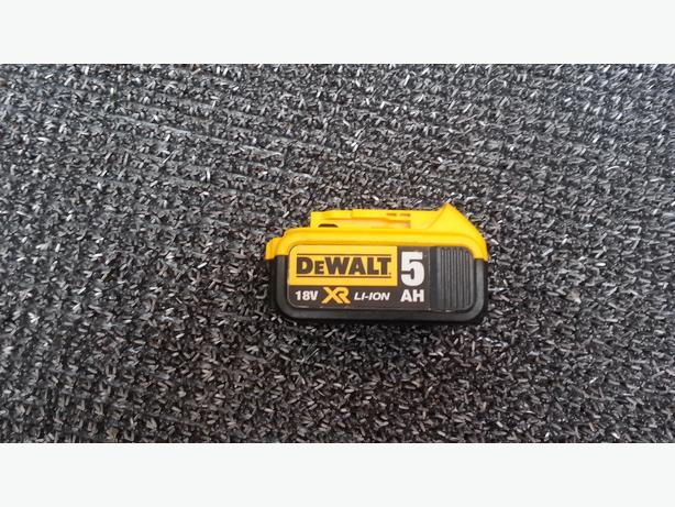 Dewalt dcb184 xr battery 5.0ah