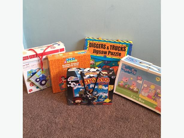 5 toddler jigsaws