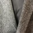 Mans Grey tweed short jacket