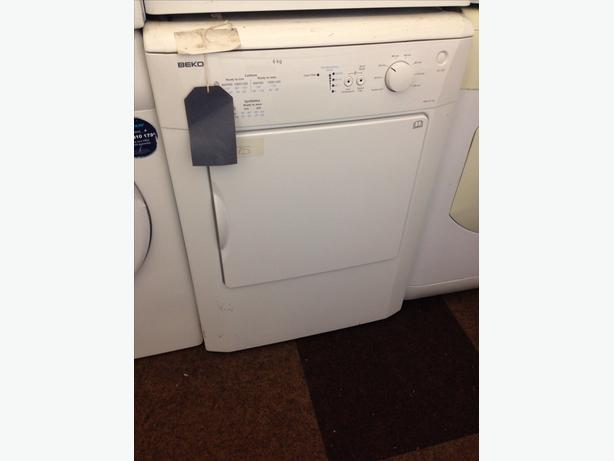 BEKO DRYER VENTED 6KG
