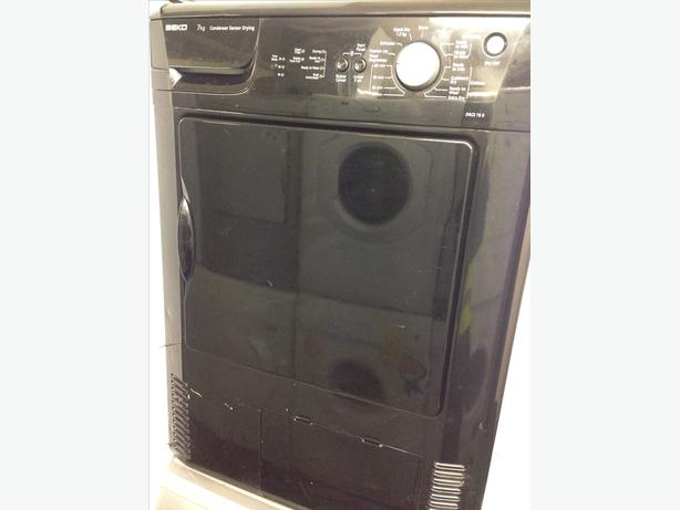 BEKO BLACK 7KG CONDENSER DRYER