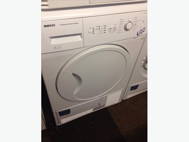 BEKO 8KG B RATED CONDENSER DRYER