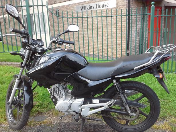 Yamaha ybr125. ..ybr 125...2012..full mot