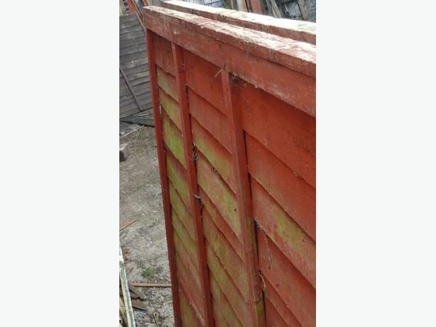 6x4 fence panel few available good condition
