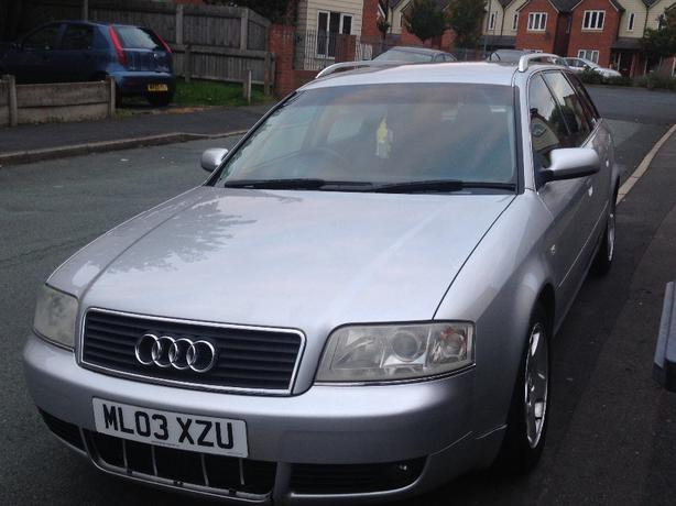 audi a6 1.9tdi 03plate automatic 6speed sell or swap