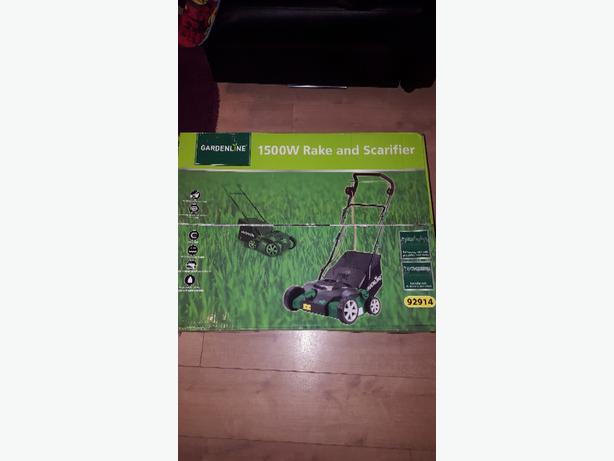 rake and scarifier