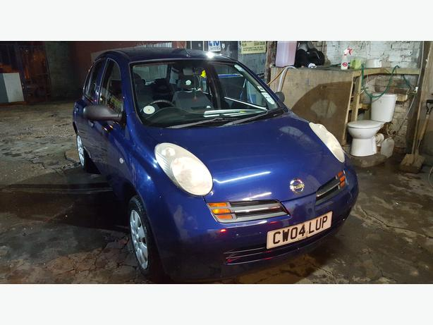 2004 nissan micra 1.2S SERVICE HISTORY