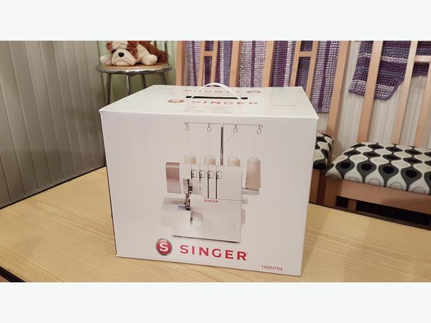 Brand New Singer 14SH754 Overlocker Sewing Machine