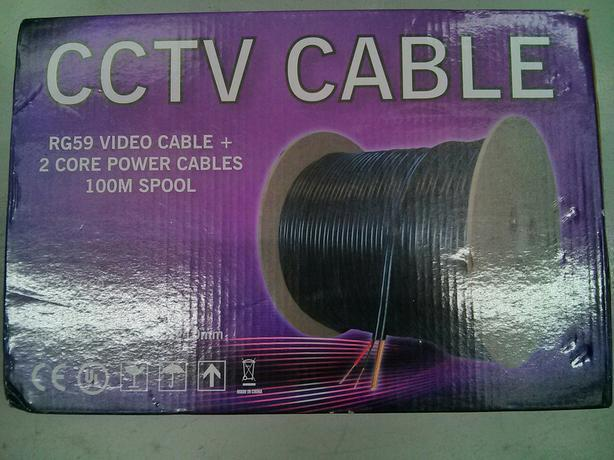 QVIS CCTV Cable - 100m Brand New