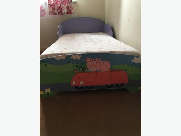 todler bed with mattress