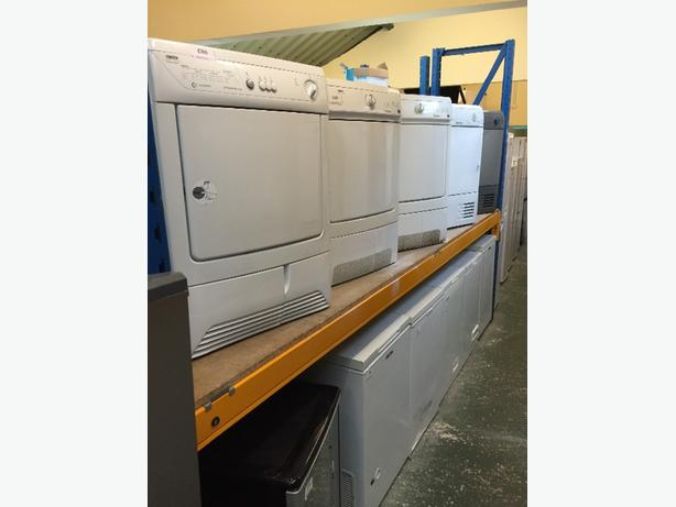 condenser dryers all with free delivery