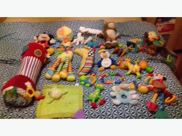 baby bundle of rattles etc