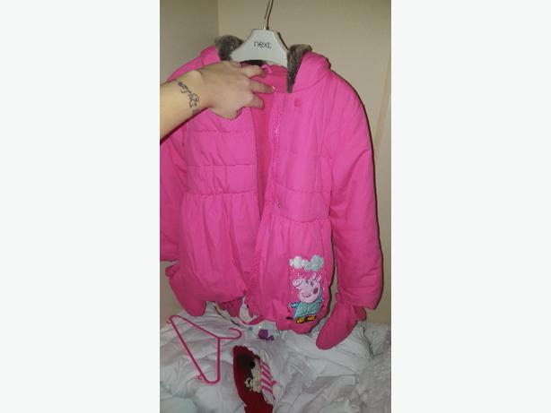 marks and spencer peppa coat like new