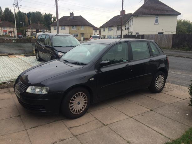 fiat stilo 2004 with mot