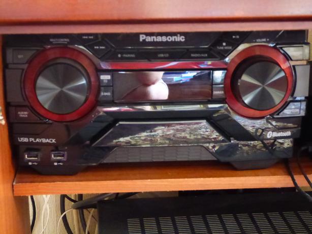 PANASONIC hifi 400w with speaker stands
