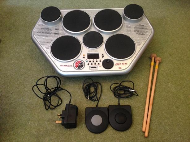 Yamaha digital percusion drums DD-55