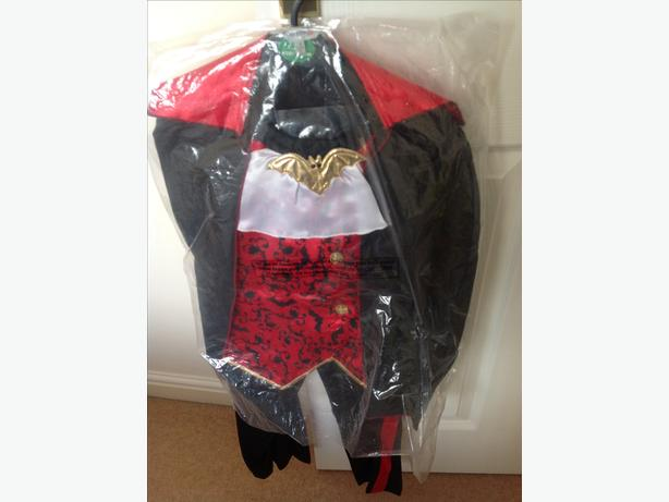 Halloween costumes £5 each & accessories £7