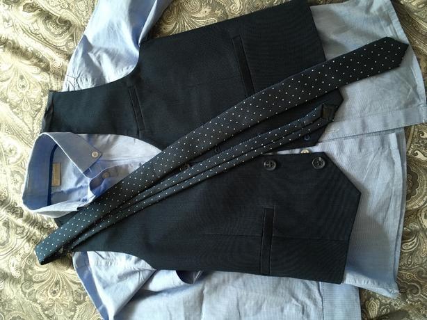 Next signature waistcoat,shirt & tie age 7