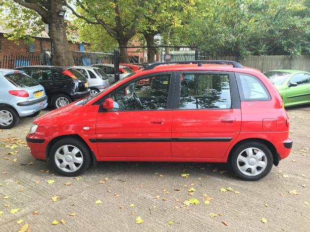 Hyundai Matrix 1.6 GSI 2004 long MOT service history