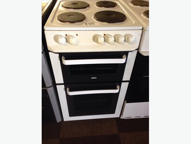 ZANUSSI PLATED TOP 50CM ELECTRIC COOKER