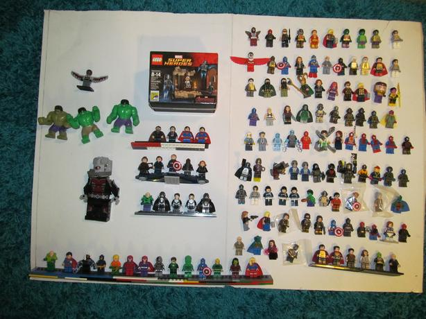 genuine lego super hero mini figures