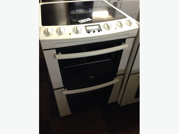 ZANUSSI ELECTRIC COOKER DOUBLE OVEN FAN ASSISTED