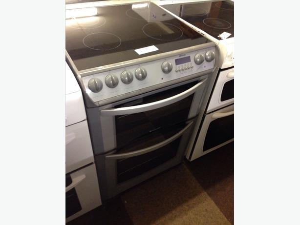HOTPOINT DOUBLE OVEN 60CM ELECTRIC COOKER