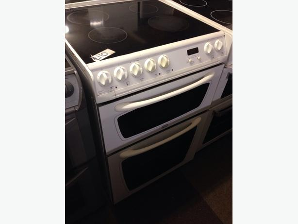 HOTPOINT CREDA 60CM DOUBLE OVEN ELECTRIC COOKER FAN ASSISTED