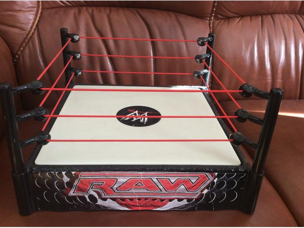 WWE fighting ring