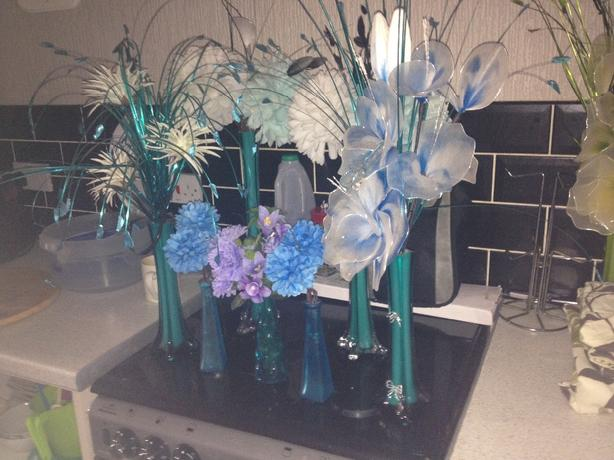teal accesiories
