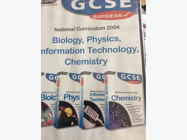 GCSE national curriculum 2004 cd