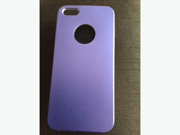 iPhone 5/5s metallic blue case new