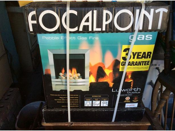 focalpoint lulworth pebble effect full depth gas fire,new