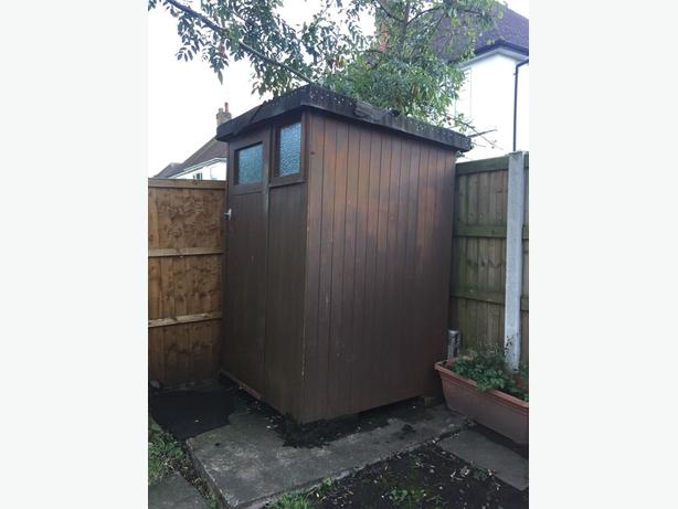 Wooden Garden Shed - Solid - Good condition - May Deliver Local