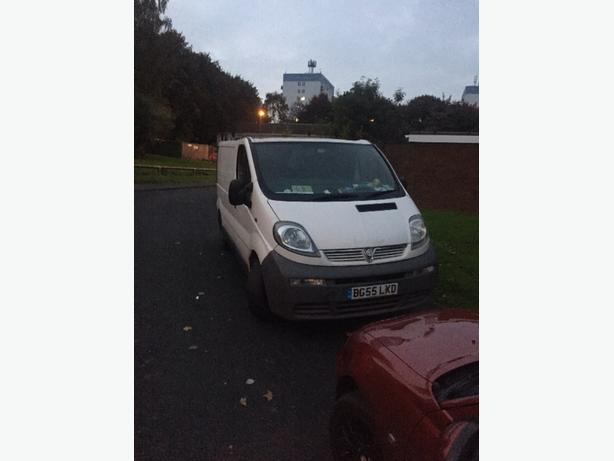 vivaro van 55 reg repairs runs drives