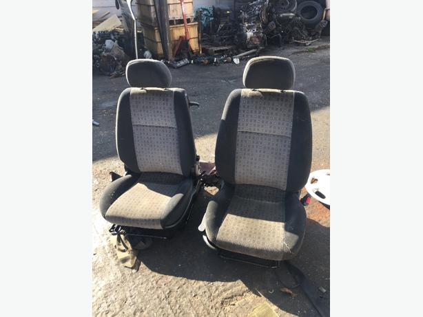 vauxhall zafira FRONT SEATS PASSENGER SIDE OR DRIVER SIDE