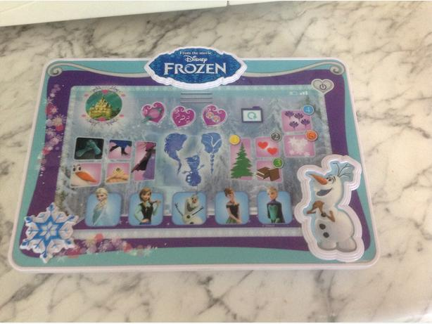 Kiddies frozen lap top