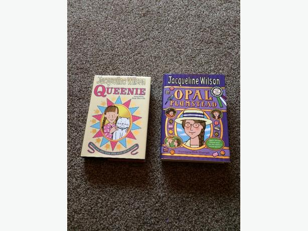 two jacqueline wilson books