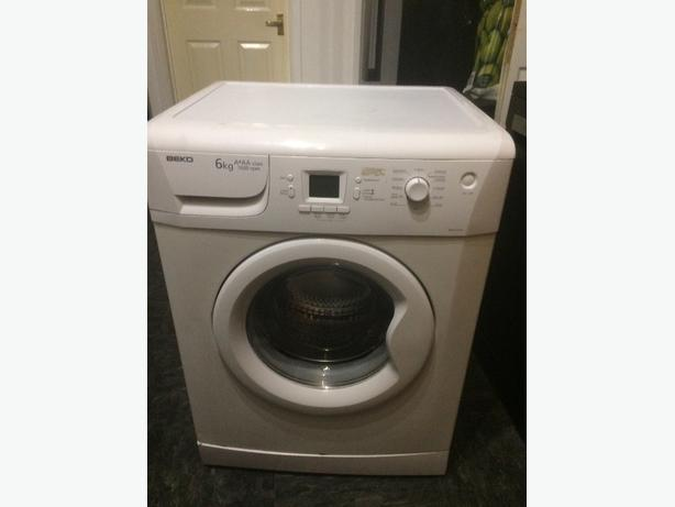 beko 1600 spin washing machine