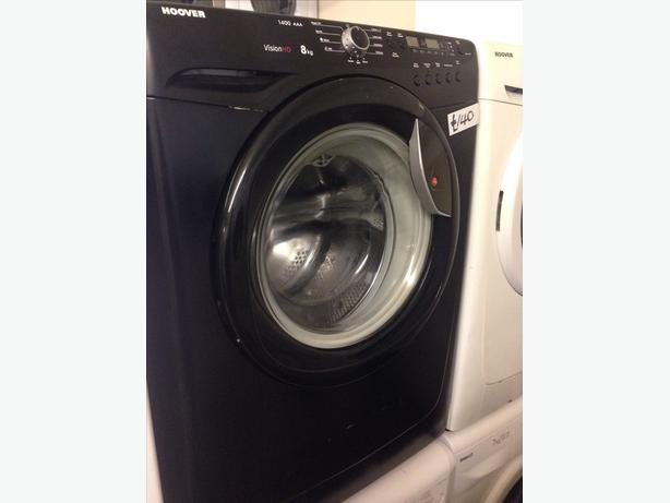 BLACK HOOVER 8KG WASHING MACHINE0