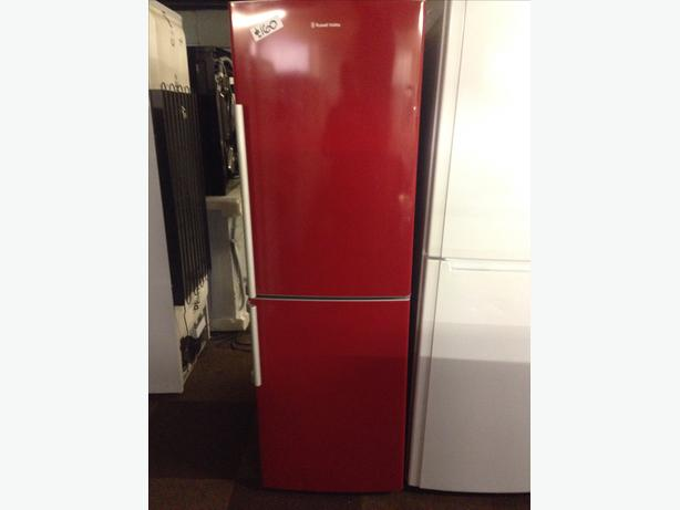 RED FRIDGE FREEZER042