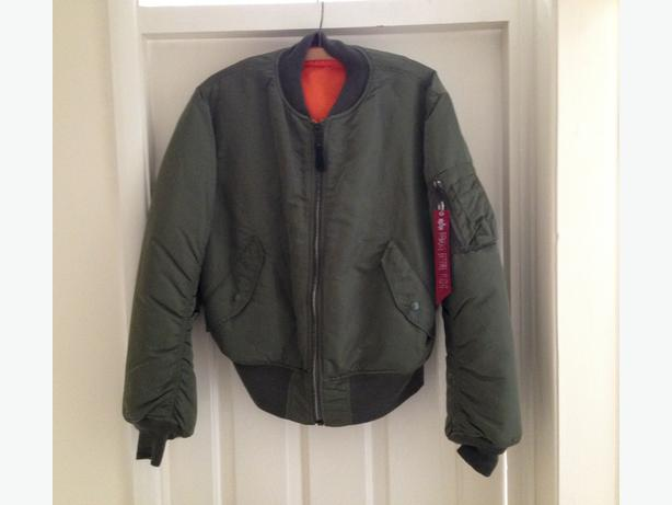 Genuine Alpha Industries MA1 pilot jacket